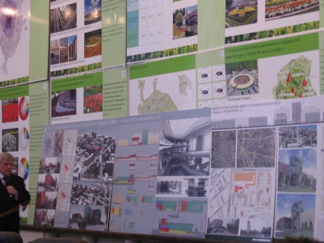 Проект музея ретро-автомобилей на Рогожском валу 9/2. ГУП МНИИП «Моспроект-4»