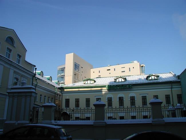 Административное здание с подземной автостоянкой на ул. Большая Дмитровка, 16 © Александров и партнеры