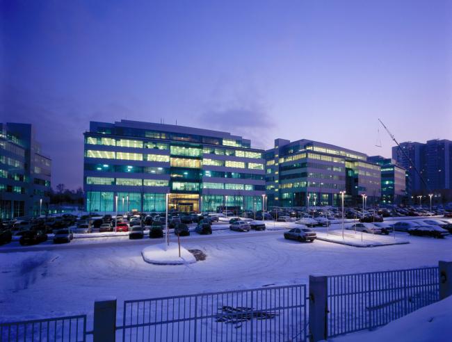 Бизнес-парк «Крылатские холмы» © ABD architects