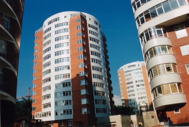 Жилые дома на ул. М. Филевская © ТПО «Резерв»