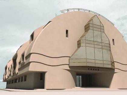 Езидский национально-культурный центр «Ронаи» Арх. А. Замащиков (2004)