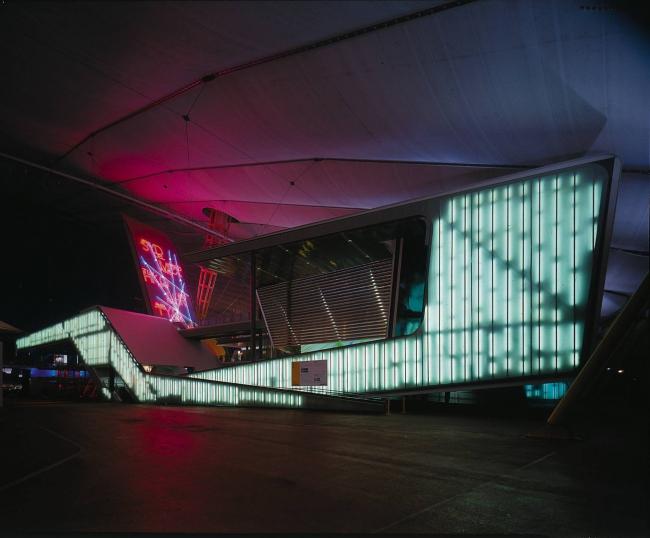 Зона «Разум» Купола Тысячелетия © Hélène Binet