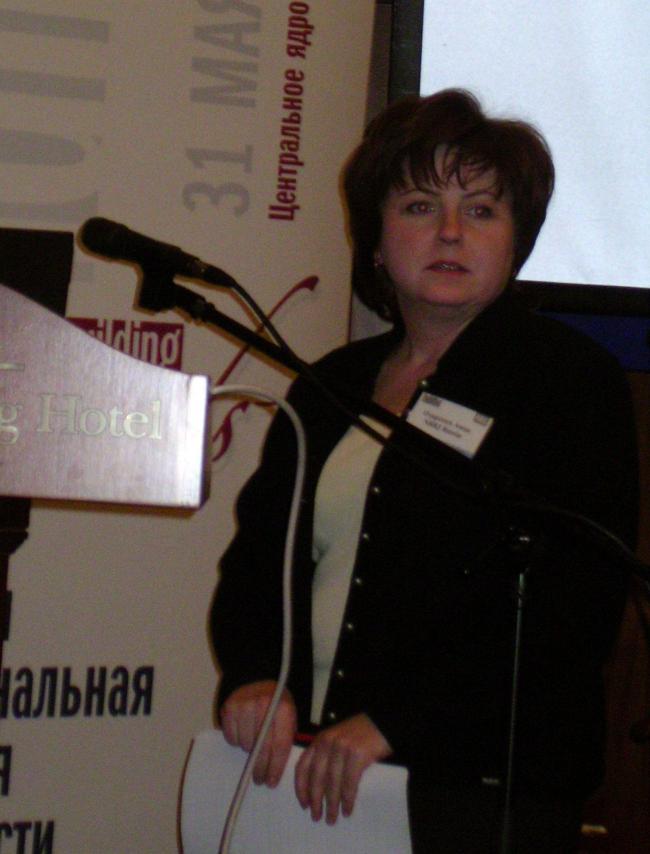 Анна Одоренко, ведущий архитектор NBBJ Russia