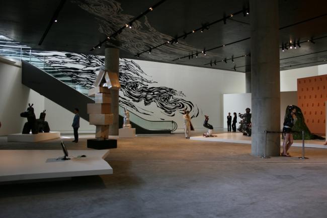 Leeum  - Музей искусств компании Samsung. Фото:  Sali Sasaki via flickr.com. Лицензия CC BY 2.0