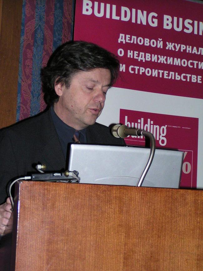 Жан Пистр, президент Valode & Pistre (Франция)