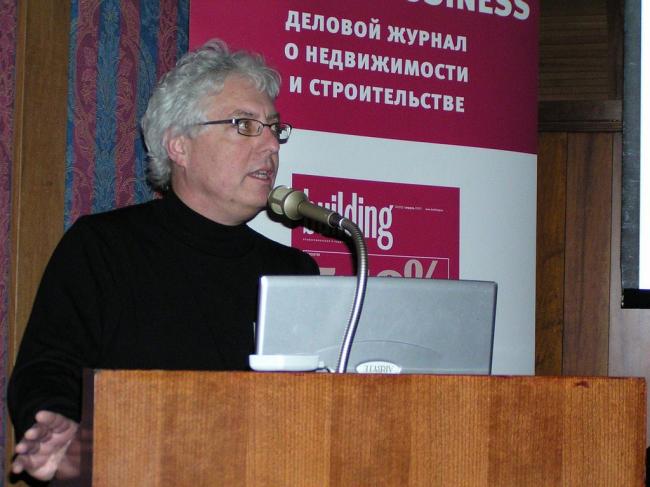 Ларри Гетс, первый заместитель директора NBBJ Seattle (США)