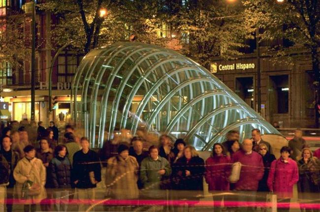 Метрополитен Бильбао © Foster+Partners