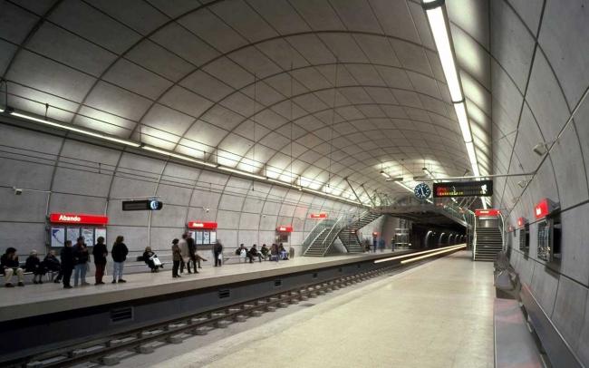 Метрополитен Бильбао © Foster + Partners