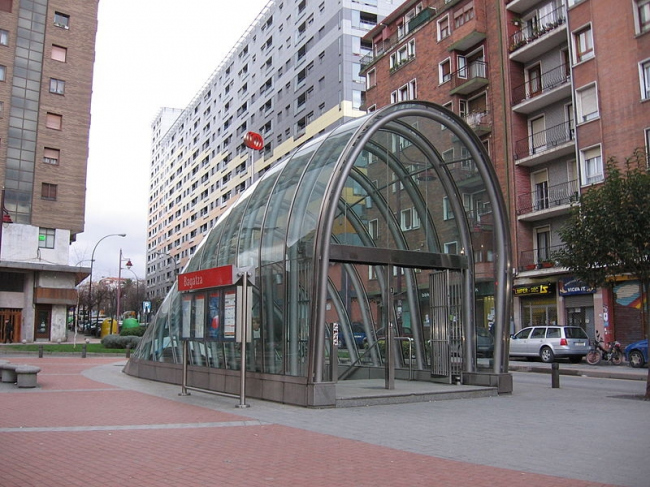 Метрополитен Бильбао. Фото: Ardo Beltz via Wikimedia Commons. Лицензия GNU Free Documentation License, Version 1.2