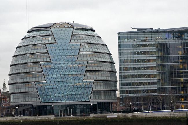 Здание Администрации Большого Лондона. Фото: Mariordo via Wikimedia Commons. Лицензия CC-BY-SA-3.0