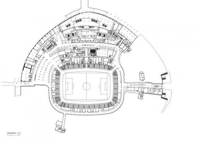 Стадион «Уэмбли» © Foster+Partners/Make