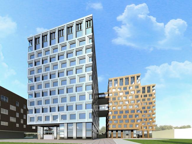 Многофункциональный центр «Данилов Плаза». Проект, 2012 © SPEECH