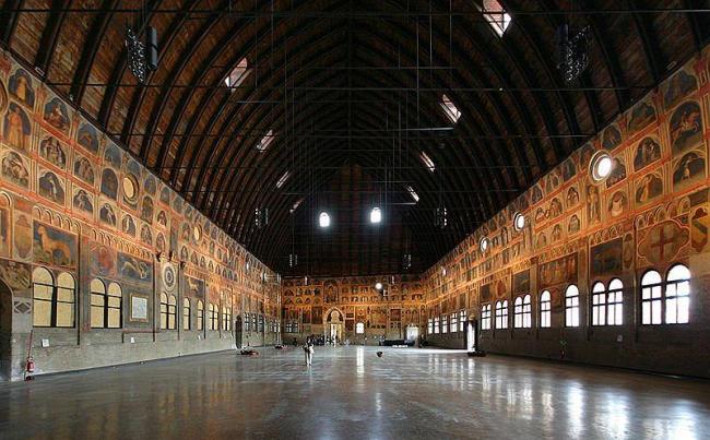 Палаццо дель Раджоне. Зал «Салоне»