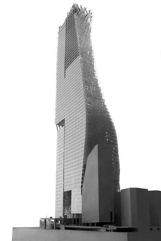 Башня «Фар». Макет