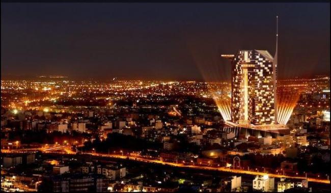 ЦМТ в Ширазе. Проект