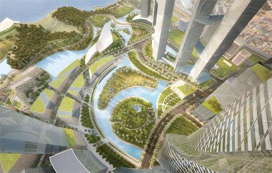 Центральный деловой район Ёнсангу