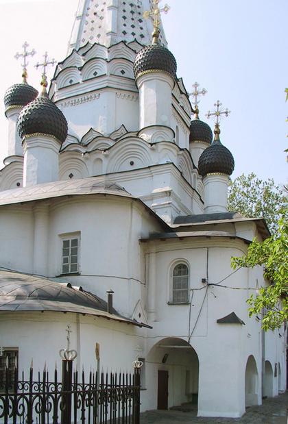 Церковь Покрова в Медведкове. Фото Ю.Тарабариной