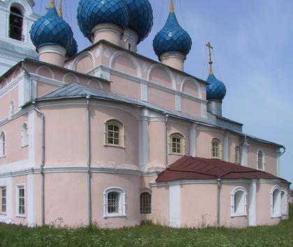 Церковь Преображения в селе Пурех. Фото Ю.Тарабариной