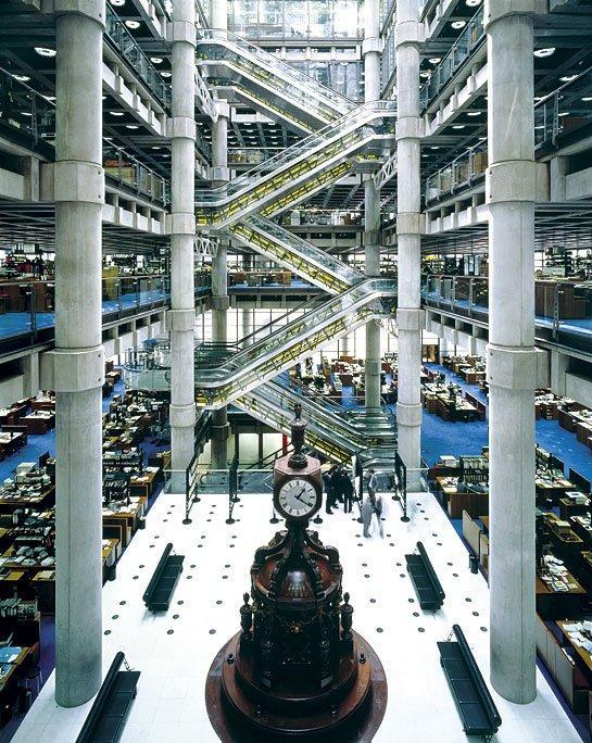 Здание Lloyd's в Лондоне. Фото с сайта rsh-p.com