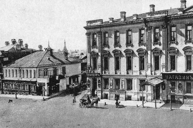 Дом 1881-1883 гг. Арбатская пл., 1/2, стр. 1, 1а; 3