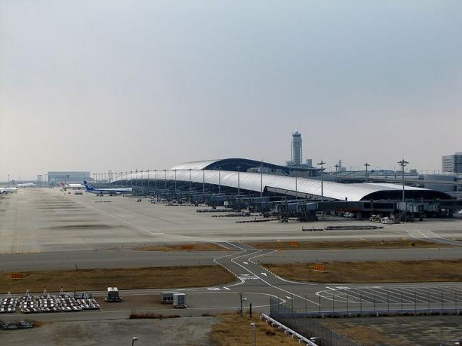 Международный аэропорт Кансай. Фото: redlegsfan21 via Wikimedia Commons. Лицензия CC-BY-SA-2.0