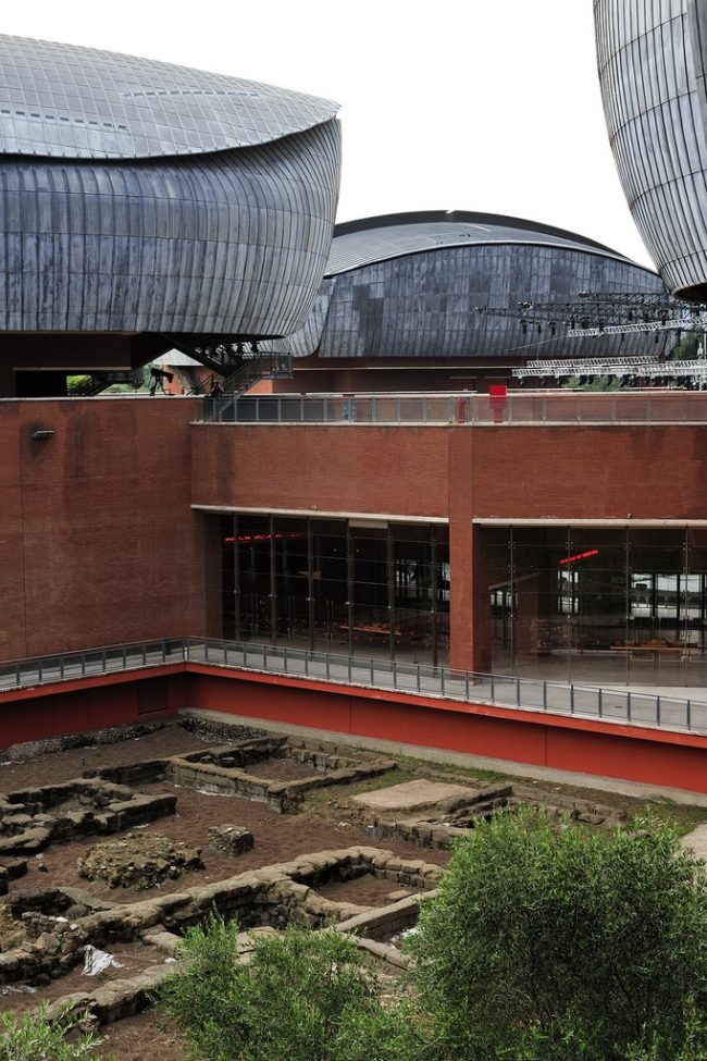 Концертный зал Парко-делла-Музика. Фото: André P. Meyer-Vitali via flickr.com. Лицензия CC BY 2.0