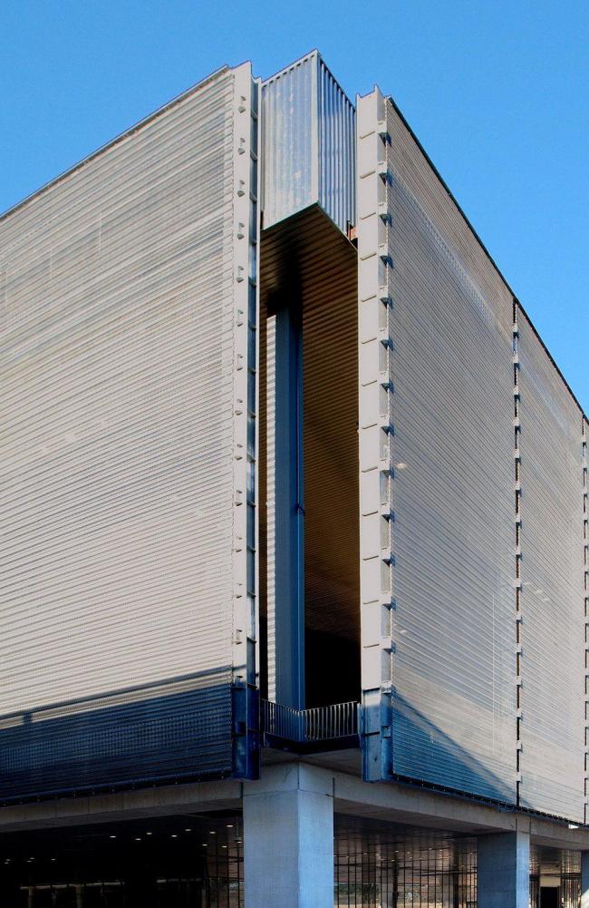 Олимпийский теннисный центр © Perrault Projets / Adagp