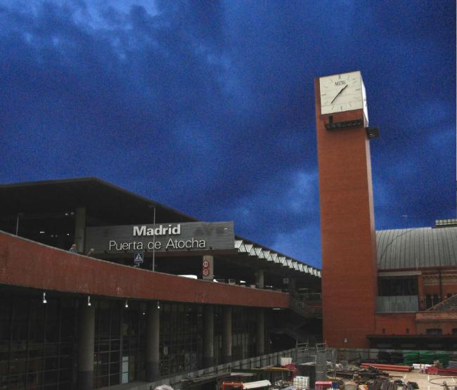 Вокзал Аточа. Фото: Roberto_Garcia via Wikimedia Commons. Лицензия CC BY 2.0