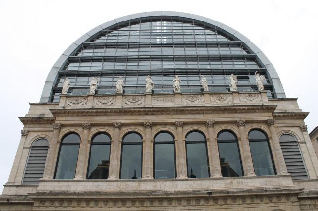 Лионский оперный театр - реконструкция. Фото: Connie Ma via flickr.com. Лицензия CC BY-SA 2.0