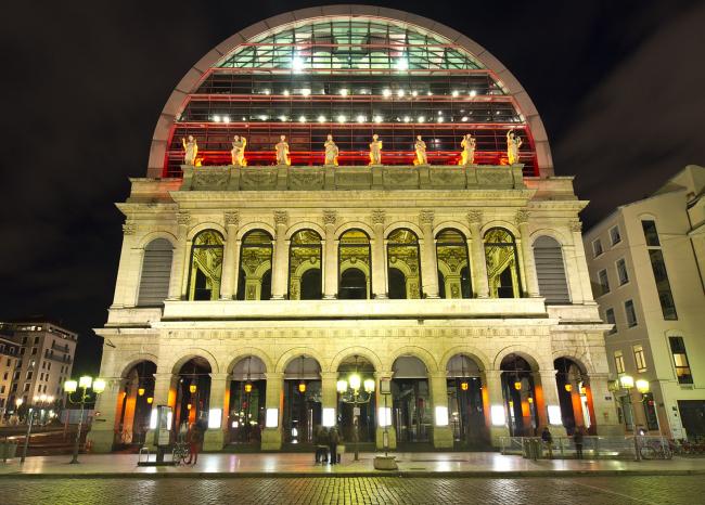 Лионский оперный театр - реконструкция. Фото: Steve Collis via flickr.com. Лицензия CC BY 2.0