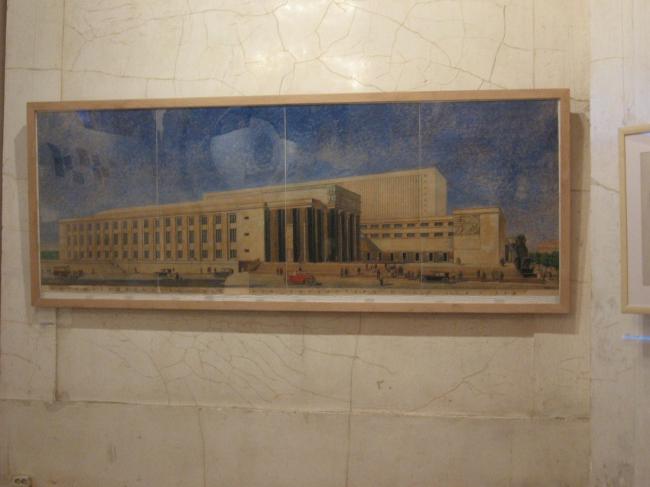 Проект Библиотеки им. Ленина А. Щуко