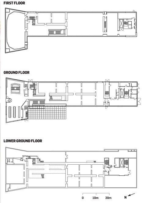 Музей Брандхорст. Поэтажные планы