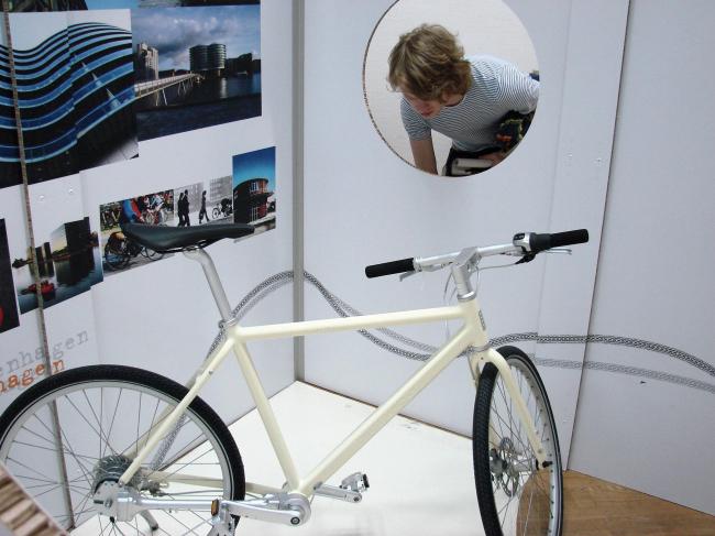 Экспозиция Дании. Велосипеды