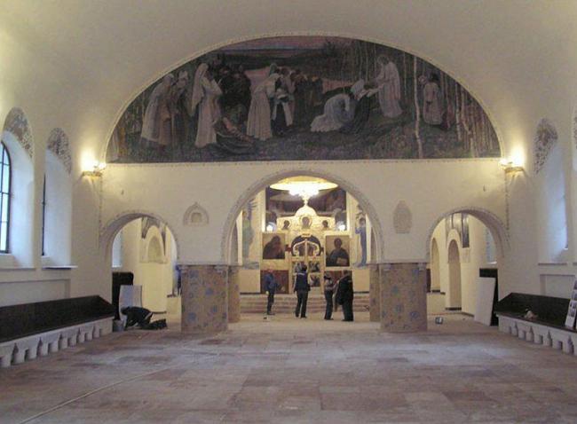 Покровский Собор в Марфо-Мариинской обители милосердия после реставрации (Центральные научно-реставрационные проектные мастерские)