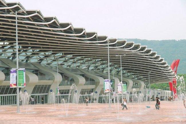 Главный стадион Всемирных игр-2009 © hiroshiken