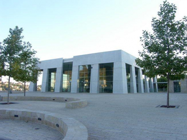 Вход в Мемориальный музей Яд Вашем