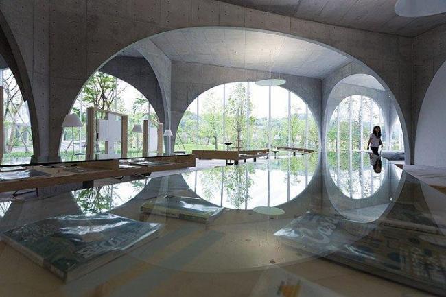 Библиотека Университета искусств Тама. 2007. Фото © Iwan Baan