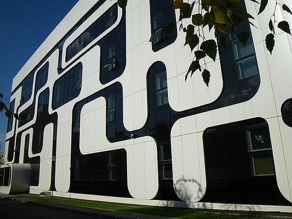 Офисное здание «Интеллект-Телеком». «Проект 21 – Архитектура». Ирина Болычевцева (руководитель), Сергей Осьмаков
