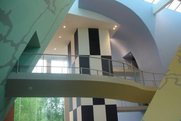 Музей Эрже. Атриум