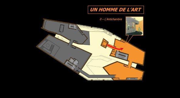 Музей Эрже. План 3-го этажа