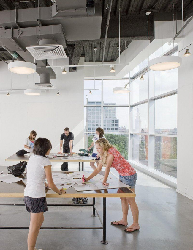 Центр Чейс Школы дизайна Род-Айленда © John Horner