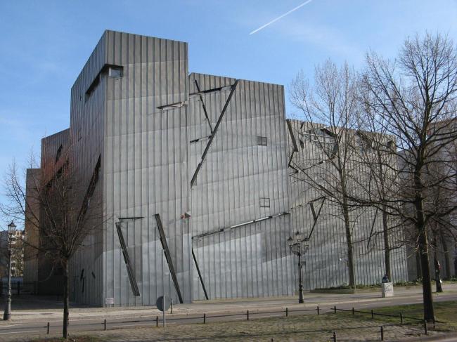 Еврейский музей в Берлине. Фото © archiDE