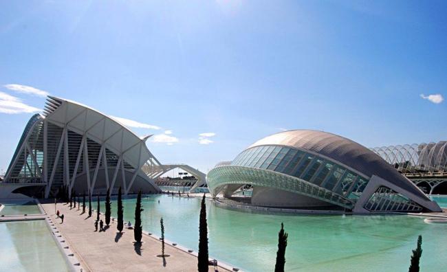 Город искусства и науки © Santiago Calatrava Architects & Engineers