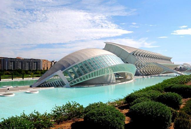 Город искусства и науки в Валенсии © Santiago Calatrava Architects & Engineers