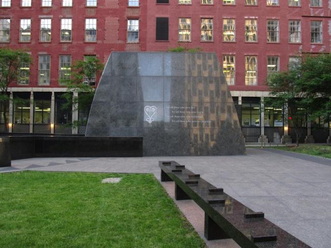 Мемориал африканским рабам в Нью-Йорке. Фото: Ken Lund via flickr.com. Лицензия CC BY-SA 2.0