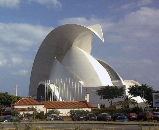 Оперный театр Тенерифе. Фото: kallerna via Wikimedia Commons. Фото находится в общественном доступе