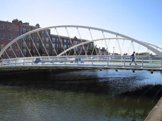 Мост Джеймса Джойса. Фото: William Murphy via Wikimedia Commons. Лицензия CC-BY-SA-2.0