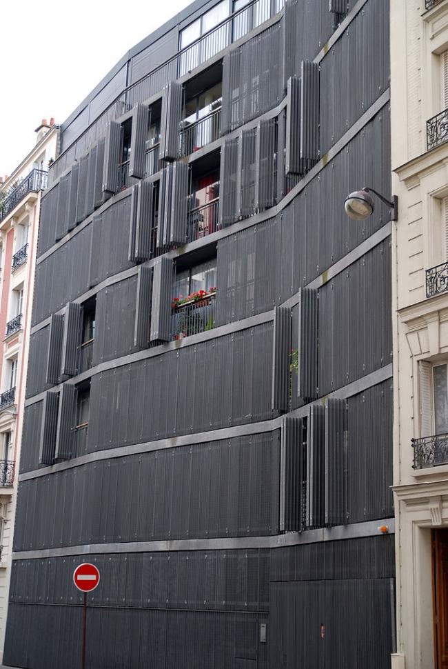 Жилой дом на улице Де Сюис. Фото: Bruno Collinet via Wikimedia Commons. Лицензия CC-BY-SA-3.0