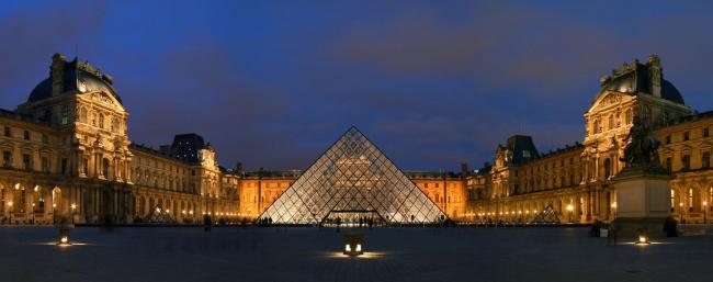 Проект «Большой Лувр» в Париже. Фото: Benh LIEU SONG  via Wikimedia Commons. Лицензия CC BY 2.5