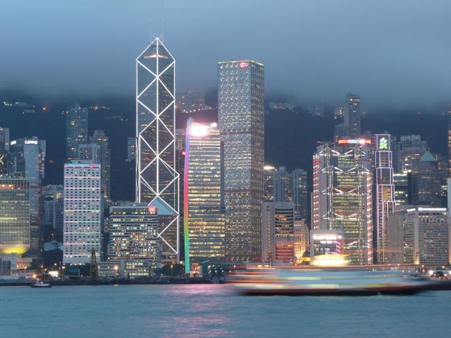 Башня Китайского банка в Гонконге. Фото: Brian Sterling via Wikimedia Commons. Лицензия CC BY-SA 2.0